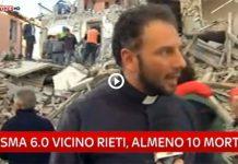 Terremoto nel Centro Italia: attimi di paura per 112 tranesi a Gualdo Tadino — VIDEO