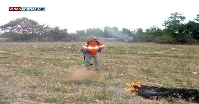 incendio-pericoloso-alta-murgia-volontari-guardie-federiciane