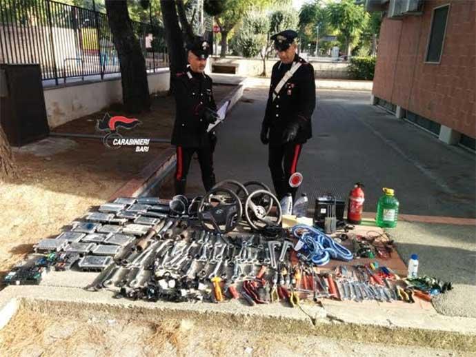 furti-d-auto-carabinieri-di-andria-arrestano-tre-pregiudicati-andriesi