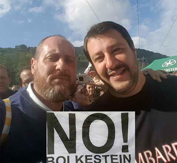"""Andria è ufficialmente """"No Direttiva UE Bolkestein"""", sabato manifestazione con Salvini in Piazza Bersaglieri"""
