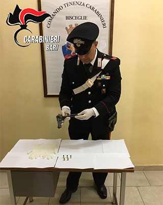 carabinieri-sequestrano-pistola-a-bisceglie