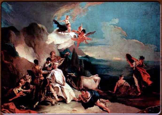 """Giambattista Tiepolo, """"Il Rapimento d'Europa"""""""