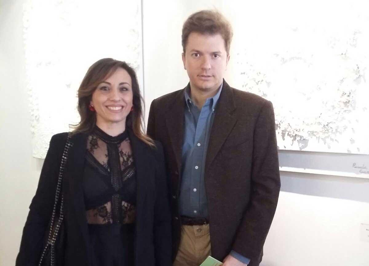 """L'artista andriese Ricarda Guantario espone l'opera """"Infinity"""" alla terza Esposizione Triennale di Roma"""