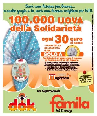 La Megamark di Trani offre centomila euro per il pranzo di Pasqua nelle mense dei meno fortunati