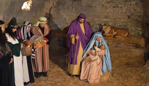 Andria: Presepe Vivente presso il Santuario della Madonna dei Miracoli