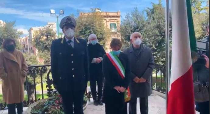 andria commemorazione morti vittime covid
