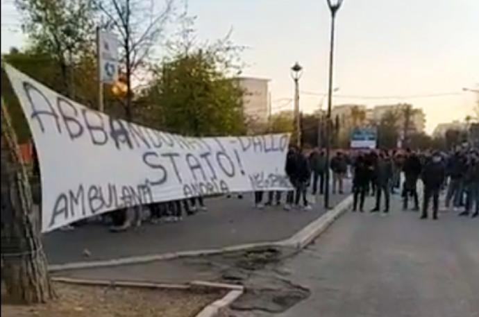 protesta ambulanti andria