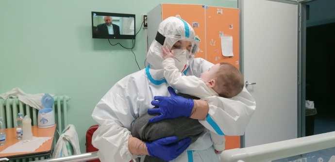 covid bat bisceglie neonato bambino