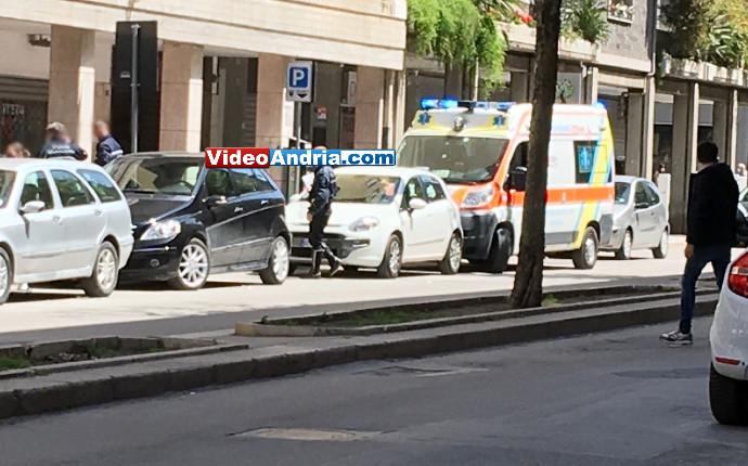 incidente investimento soccorsi 118 andria via firenze