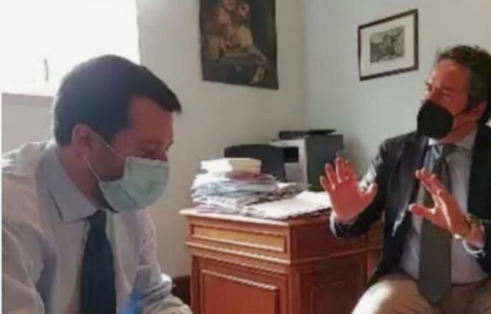 Incontro Salvini_montaruli casAmbulanti Roma