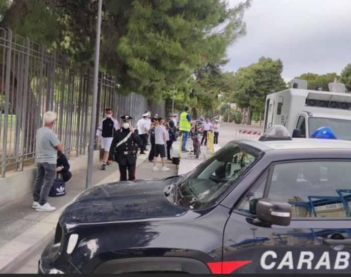 controlli carabinieri bici elettriche andria villa comunale
