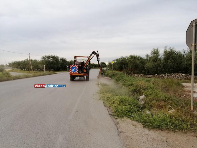 lavori strada tangenziale andria