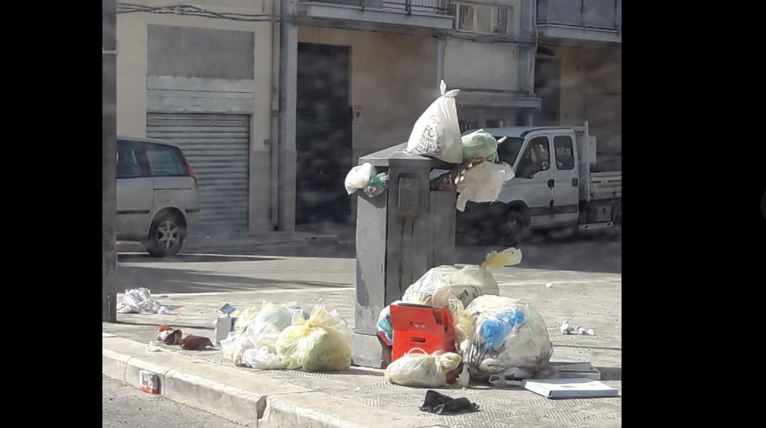 rifiuti abbandonati andria