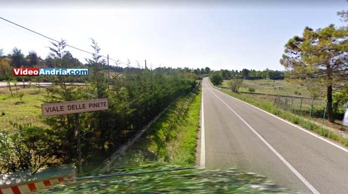 viale delle pinete strada statale 170 andria castel del monte