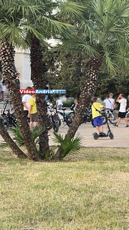 andria bici elettriche monumento ai caduti fatbike