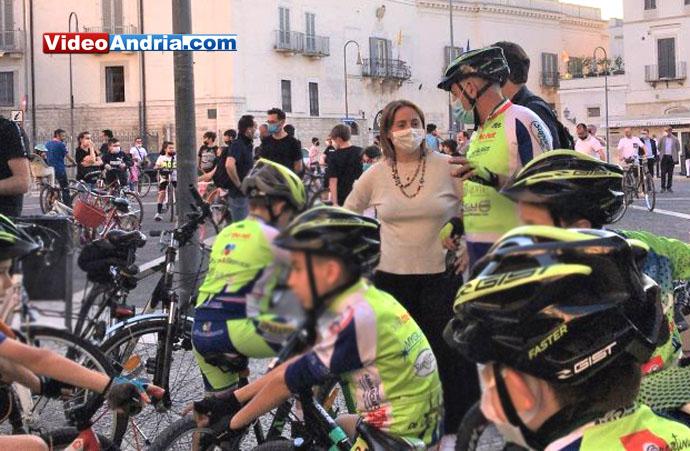 biciclettata sindaco
