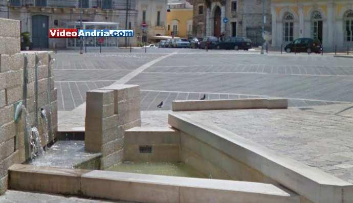 fontana piazza catuma andria