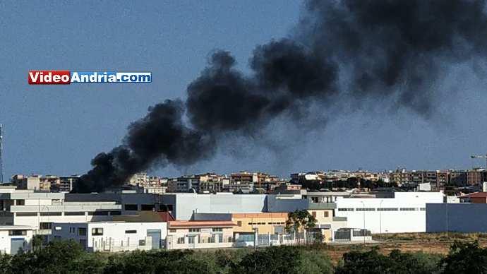 incendio via barletta andria
