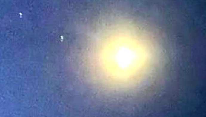 oggetto volante luminoso
