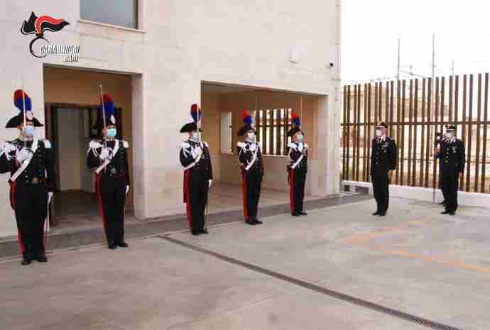 Gruppo Trani arma dei carabinieri