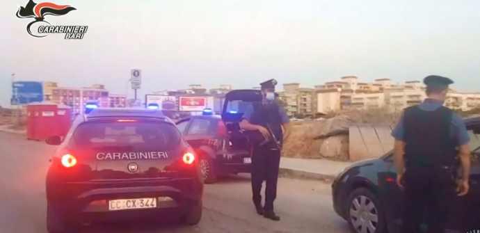 controlli carabinieri trani
