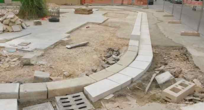 lavori piazza sorelle agazzi andria 2021