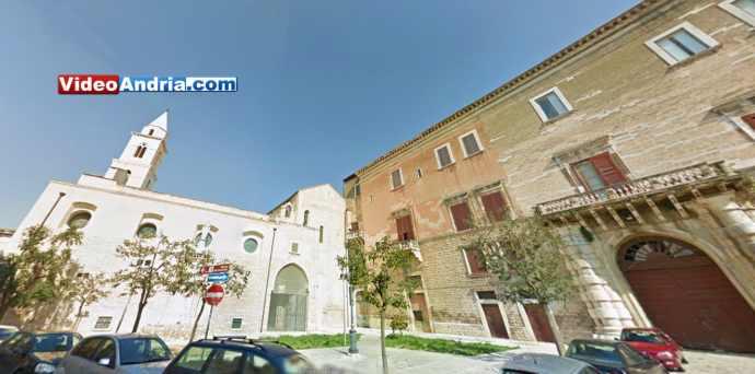 piazza la corte andria palazzo ducale chiesa cattedrale