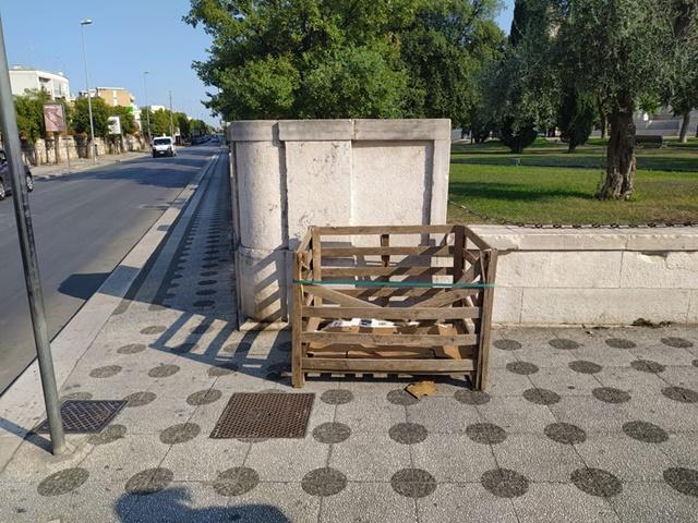FOTO Rifiuti ingombranti – Ancora vandali in azione 2