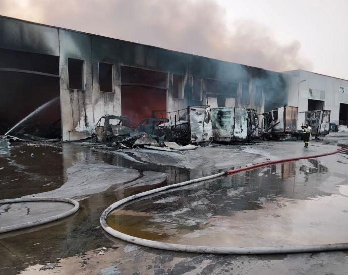 Incendio Via Canosa_3