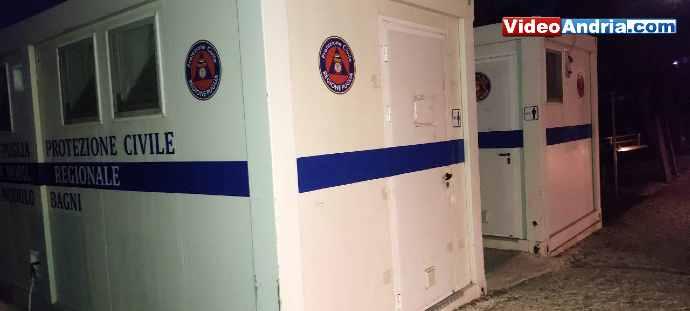 castel del monte bagni pubblici chiusi protezione civile regionale puglia